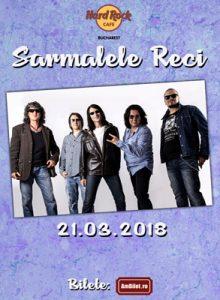 Sarmalele Reci la Hard Rock Cafe