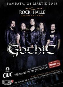 Gothic – Live la Constanța