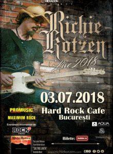 Richie Kotzen live 2018