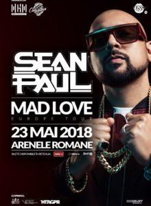 Sean Paul -Mad love Europe tour