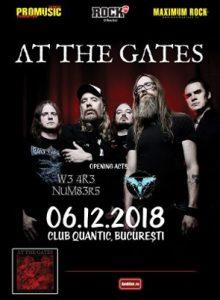 At The Gates -lansare de album