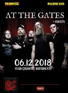 At The Gates -lansare de album