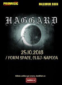 Haggard la Cluj-Napoca