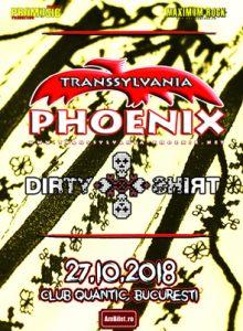 Phoenix & Dirty Shirt CONCERT ANULAT