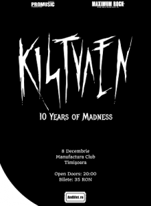 Kistvaen -turneu aniversar 10 ani -Timisoara