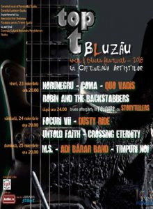 Top T -Bluzau 2018: blues si rock in acelasi loc