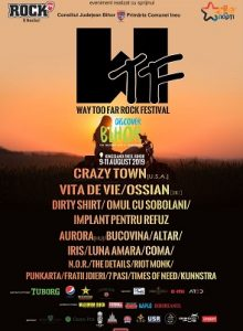 WTF – Way Too Far Rock Festival 2019