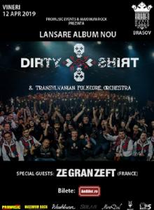 Dirty Shirt – lansare de album (Brasov)