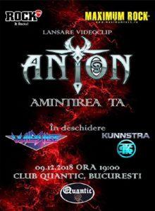 Anton – Lansare oficiala videoclip