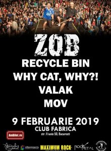 Zob / Recycle Bin / Why Cat, Why?! / Valak / MOV