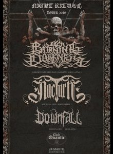 Night Ritual Tour 2019 -Burning Darkness / NocturN / Downfall
