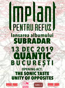 Implant pentru Refuz – Lansare album
