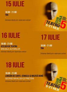 Festivalul Teatru Sub Luna -15-18 iulie la Teatru InDArt