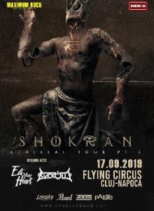Shokran (RU) în Flying Circus, Cluj-Napoca