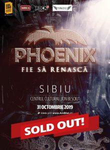 Phoenix – Fie sa renasca Tour 2019 (Sibiu)