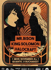 MR.BISON // KING SOLOMON // HALOCRAFT