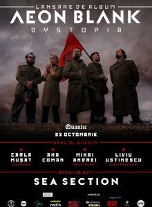 AEON BLANK – Dystopia (lansare de album)