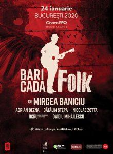 Baricada Folk la Cinema PRO (Bucuresti)