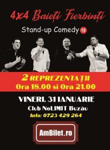4×4 Baieti Fierbinti (stand up)