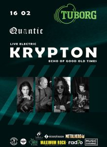 KRYPTON -Live Electric -Echo of good old times Anulat