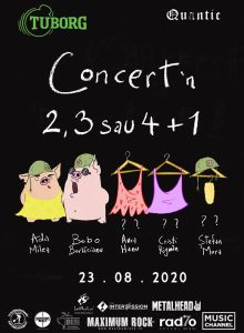 Concert in 2,3 sau 4+1 -Ada Milea, Bobo Burlacianu si posibil: A.Hanu, C.Rigman si St.Mura