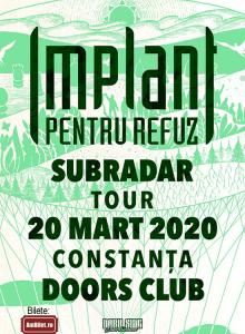 IMPLANT PENTRU REFUZ –SubRadar tour