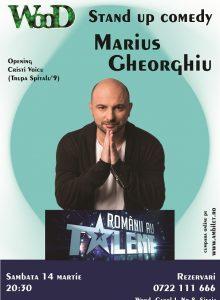 Stand up comedy cu Marius Gheorghiu si Cristi Voicu(Anulat)