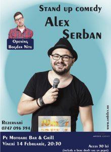 Stand up comedy cu Alex Serban