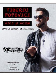 Stand up comedy cu Tiberiu Popovici